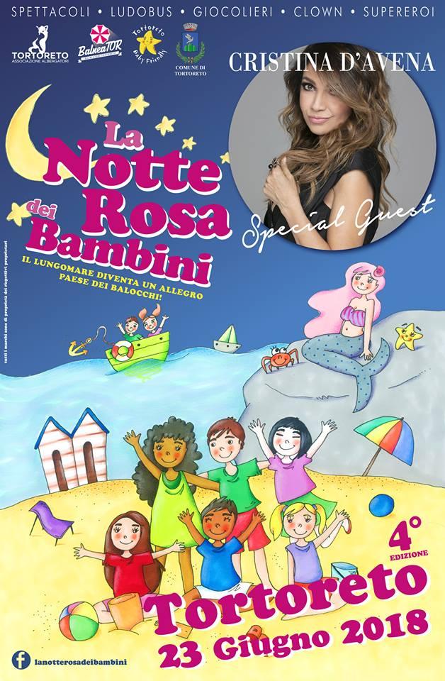 La Notte Rosa dei Bambini 23 giugno 2018