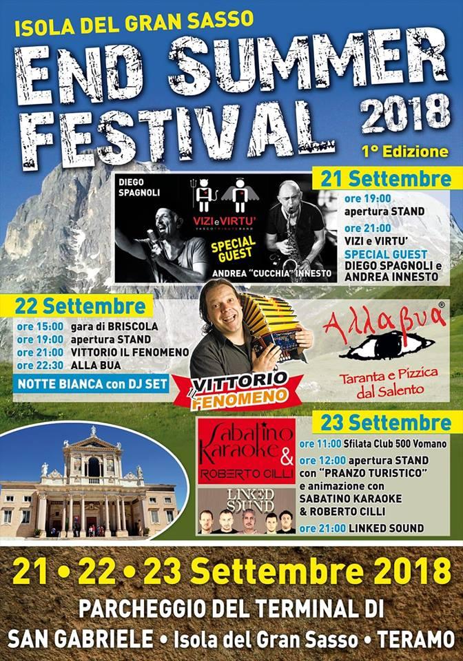 Isola del Gran Sasso - End Summer Festival 2018