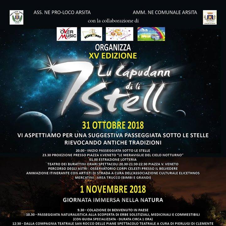 Arsita - LU CAPUDANN DI LI SETT STELL 2018