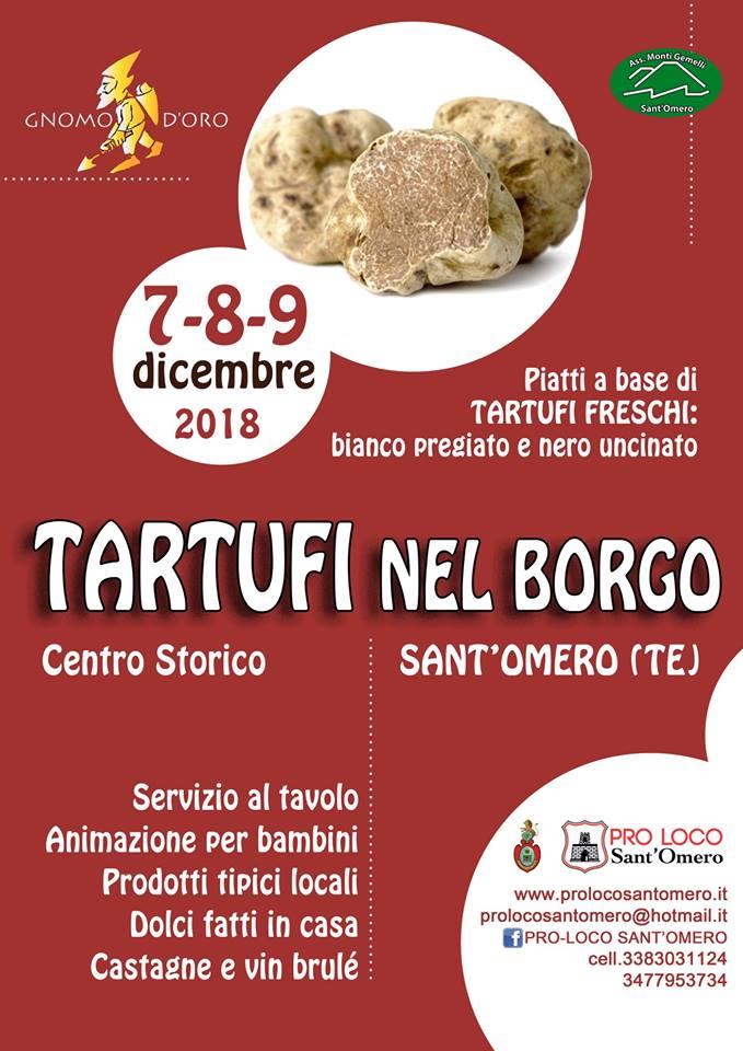 Sant'Omero - Tartufi nel Borgo 2018  7-8-9 dicembre 2018
