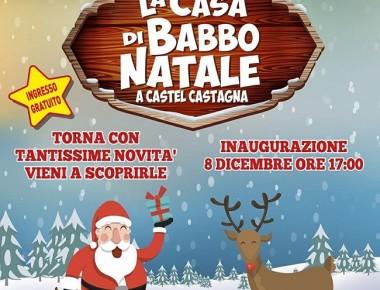 Castel Castagna - La Casa Di Babbo Natale dal 8 dicembre 2018  al 6 gennaio 2019