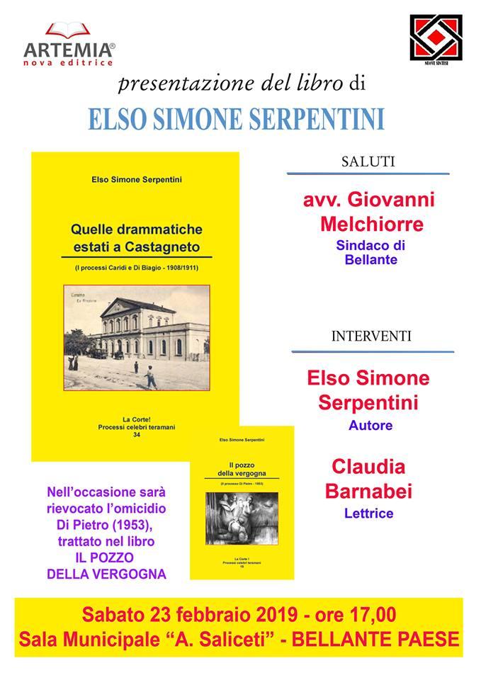 """""""Quelle drammatiche estati a Castagneto"""" 23 FEBBRAIO 2019"""