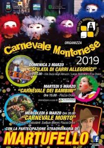 MONTORIO AL VOMANO – Carnevale Montoriese dal 03 al 06 Marzo 2019