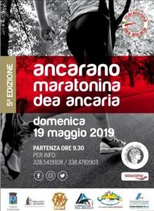 "ANCARANO - 5° Maratonina ""Dea Ancaria"" 19 Maggio 2019"