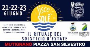 """Mutignano di Pineto """"JISCE SOLE"""" DAL 21 AL 23 GIUGNO 2019"""