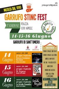 GARRUFO STINC FEST 2019 dal 14 al 16 Giugno 2019