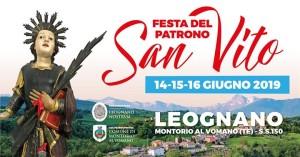 Leognano di Montorio al Vomano -  Festa di San Vito 2019